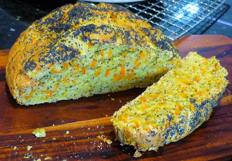 Carrot and Poppyseed Loaf