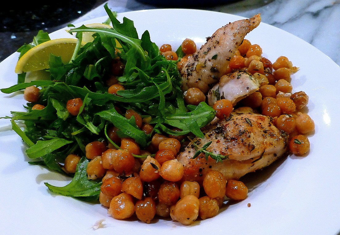 Chickpea and Lemon Baked Chicken