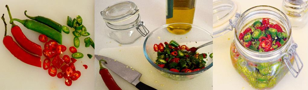 Chillies in Oil