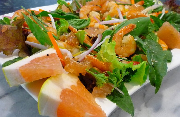 Prawn and Pomelo Salad