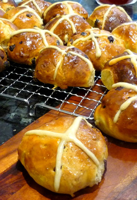 Rich Hot Cross Buns