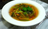 Vegetable Soup Julienne