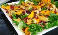 Mango, Chicken and Pomegranate Salad