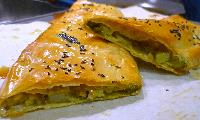 Potato and Pesto Strudel