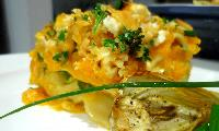 Roast Butternut and Baby Fennel Lasagne