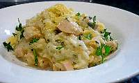 Smoked Chicken Risotto