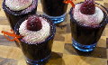 Raspberry Chambord Jelly Shooters
