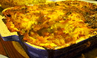 Vegetable and Lentil Pie